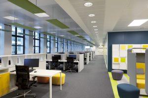 Ufficio Organizzazione Banca : Uno smart office accogliente come una casa: il customer center della