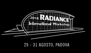 International Radiance Workshop 2016