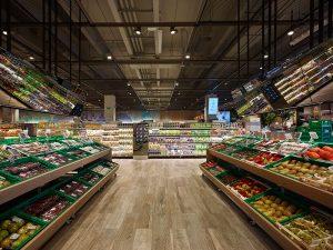 Ruolo fondamentale della luce nel supermercato officebit arredi