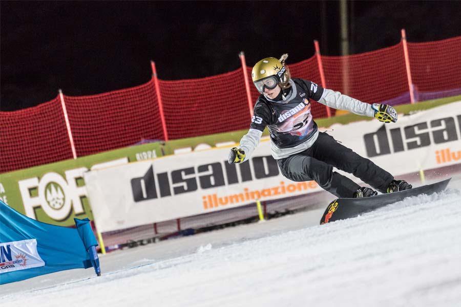 Plafoniere Per Ufficio Disano : Illuminazione per lo sport: la coppa del mondo di snowboard a