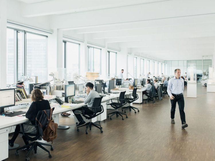 gli uffici di Ingenhoven Architects