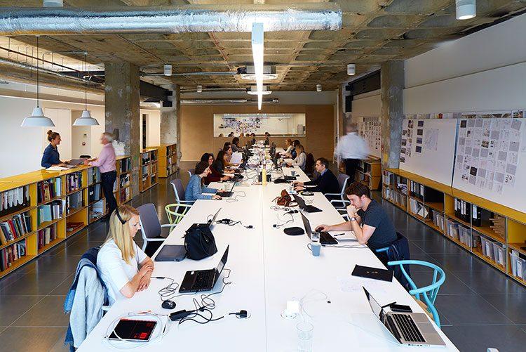 Ufficio Di Un Architetto : Un ufficio spettacolare con vista sul tamigi » officebit: arredi e