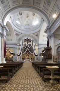 Chiesa di san Giovanni Bianco illuminata da Vimar