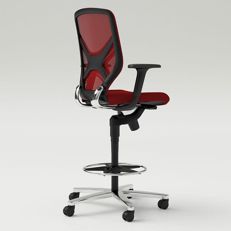 Le sedute ergonomiche da ufficio per lavorare su tavoli for Sedute da ufficio