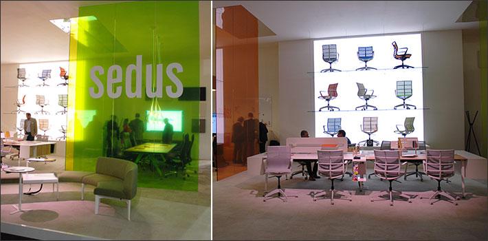 Sedus stand Workplace 2017