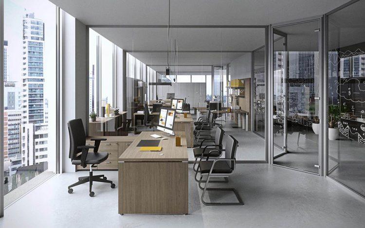 Plafoniere Sospese Per Ufficio : Mobili da ufficio costruiti per migliorare il comfort e l