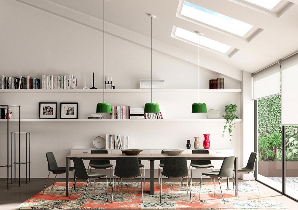 Mobili Per Ufficio Quadrifoglio : Linee pure e delineate la seduta clue » officebit: arredi e mobili