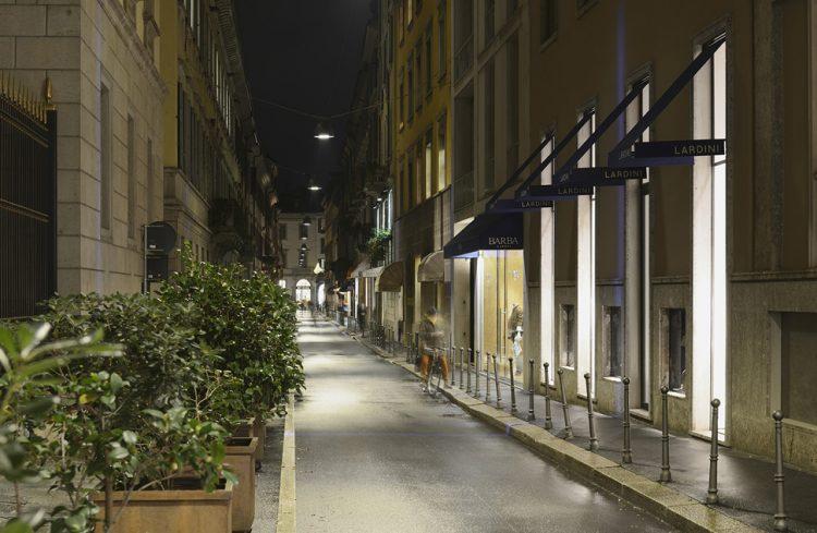 illuminazione pubblica a milano