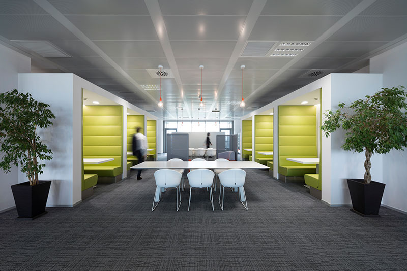 i nuovi uffici smart di sky officebit arredi e mobili ForUffici A Milano