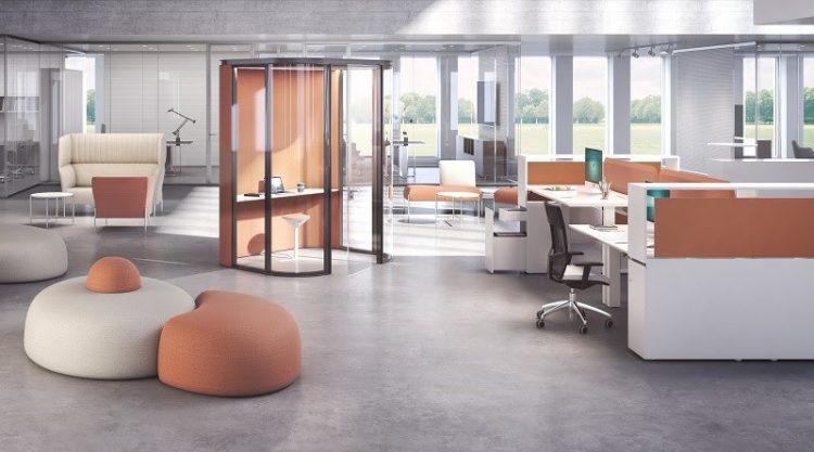 Estel Mobili Per Ufficio.Nuovo Ed Innovativo Showroom Per Estel Group Officebit Arredi E