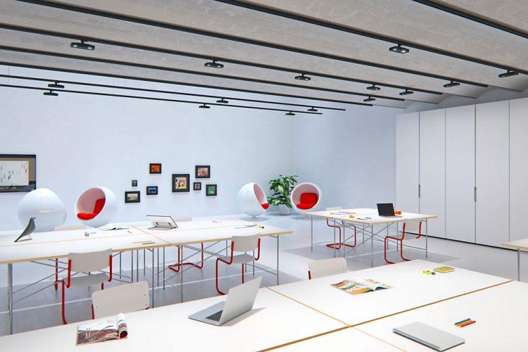 Una luce flessibile per applicazioni office flessibili e d