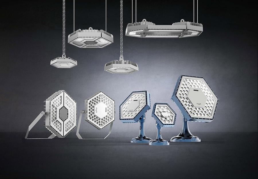 Le geometria perfetta dellilluminazione a led » officebit: arredi e